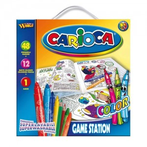 "Set de colorat ""Game Station Colour"" - Carioca"