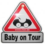 Semn de masina Baby on Tour - Reer