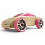 Masinuta sport din lemn Mini C9-P - Automoblox