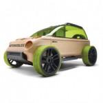 Masinuta din lemn Mini X9-X Suv - Automoblox