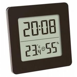 Termometru si higrometru digital cu ceas si alarma - TFA