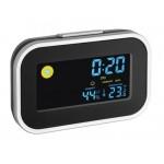 Termo-higrometru cu ceas si alarma iluminat - TFA