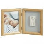 "Kit amprenta + rama foto ""Print Frame"" - Baby Art"