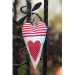 Decoratiune Inima cu aplicatie - Amma