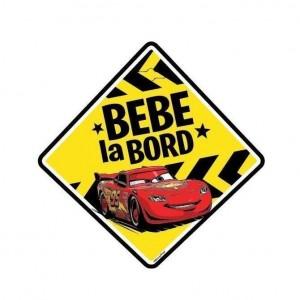 """Semn auto """"Bebe la bord"""" Cars - Seven"""