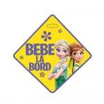 """Semn auto """"Bebe la bord"""" Frozen - Seven"""