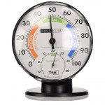 Higrometru si termometru clasic de precizie - TFA