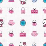 Rola tapet 10 X 0,52 m Hello Kitty Fashion- Decofun