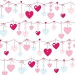 Rola tapet 10 X 0,52 m Hearts - Decofun