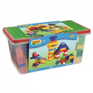 Set cuburi constructie, 120 piese - Haberkorn