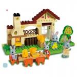 """Joc de constructie """"Familie de iepurasi"""" (2) - Haberkorn"""