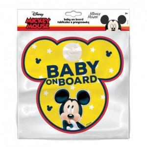 "Sticker ""Bebe la bord"", model Mickey Mouse - Disney"