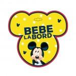 """Semn auto Bebe la bord """"Mickey"""" - Seven"""