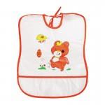 Baveta plastic moale, 30 x 35 cm - Sunny Baby