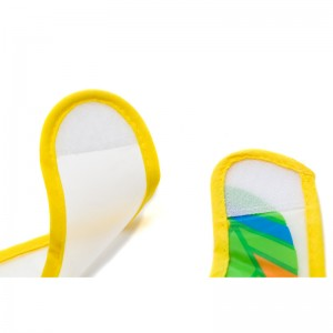 Set 2 bavete din plastic moale, 25 x 32 cm- Fillikid