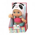 Papusa Baby Panda, 14 cm - Haberkorn