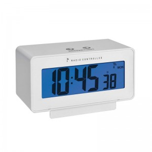 Termometru si higrometru cu ceas si ecran LCD iluminat - TFA