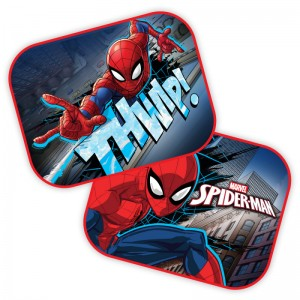Set 2 parasolare auto Spiderman - Disney