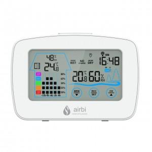 Termometru si higrometru digital cu transmitator wireless extern CONTROL - Airbi
