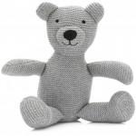 Jucarie moale Urs tricotat (28 cm) - Fillikid