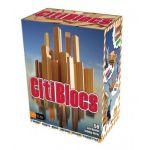 Joc constructie CitiBlocs (lemn), 50 piese - CitiBlocs