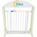 Bariera-poarta usa-scari alba, cu autoblocare - Fillikid