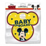 "Sticker ""Bebe la bord"", model Mickey Mouse - Disney"