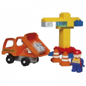 "Joc de constructie Unico ""Muncitor"" - Haberkorn"